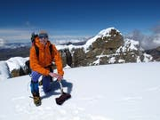 Ein Hobby, das ihn hoch hinausbringt: Christoph Koenig beim Bergsteigen in Kolumbien. (Bild: PD)