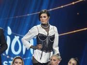 Die Sängerin Anna Korsun, alias Maruv, wird die Ukraine doch nicht am ESC 2019 vertreten. (Bild: KEYSTONE/AP/VLADIMIR DONSOV)