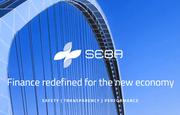«Sicherheit, Transparenz, Leistung» – Blick auf die Website der Seba Crypto. (Bild: Screenshot Seba)