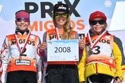 Auch Meret Muheim (links) hat die Qualifikation des Grand Prix Migros geschafft. (Bild: alphafoto.com, 24. Februar 2019)