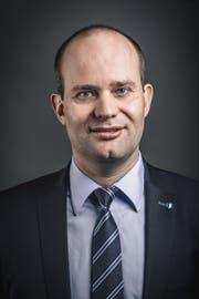 Regierungsratskandidat Fabian Peter. (Bild: Boris Bürgisser)
