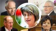 Alt Bundesrätin Doris Leuthard ist nicht die Erste, die kurz nach ihrer Amtszeit einen Auftrag in der Privatwirtschaft annimmt. (Bilder: Keystone)