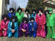 Die Provinzmusig Zuchwil, die heuer ihr 50-Jahr-Jubiläum feiert, tritt am Schmutzigen Donnerstag im «Engel» an der Stanser Fasnacht auf. (Bild: PD)