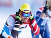 Der österreichische Langläufer Dominik Baldauf wird des Dopings verdächtigt (Bild: KEYSTONE/APA/APA/GEORG HOCHMUTH)
