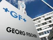 Der Industriekonzern Georg Fischer hat 2018 ordentlich verdient und geht trotz des noch einmal unsicherer gewordenen Umfelds von einer Fortsetzung der positiven Entwicklung aus. (Bild: KEYSTONE/STEFFEN SCHMIDT)