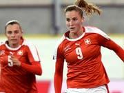 Ana Maria Crnogorcevic erzielte am Algarve Cup den einzigen Schweizer Treffer gegen Schweden (Bild: KEYSTONE/WALTER BIERI)