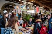 Die RKK unterstützt unter anderem das Comic-Festival Fumetto mit einem Strukturbeitrag. (Bild: Philipp Schmidli, Luzern, 14. April 2018)