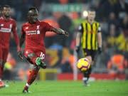 Sadio Mané brachte Liverpool früh auf den richtigen Weg (Bild: KEYSTONE/AP/RUI VIEIRA)