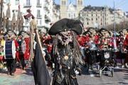 Die Nachtheueler Horw mit dem Motto Piraten. (Bild: Philipp Schmidli)