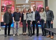 Der neue Vorstand der GLP Sektion Kreuzlingen. (Bild: PD)