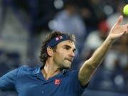 Roger Federer schafft es in Dubai in die Halbfinals (Bild: KEYSTONE/EPA/ALI HAIDER)