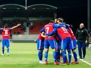Nach dem harten Cupfight in Sitten muss der FC Basel zum Klassiker im Letzigrund antreten (Bild: KEYSTONE/VALENTIN FLAURAUD)