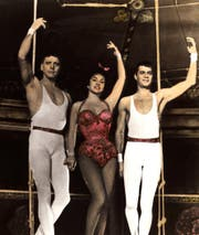 Burt Lancaster, Gina Lollobrigida und Tony Curtis in «Trapeze» von 1956. (Bild: Alamy)