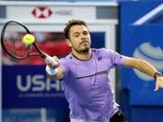 Stan Wawrinka steht in Acapulco in den Viertelfinals (Bild: KEYSTONE/EPA EFE/DAVID GUZMAN)