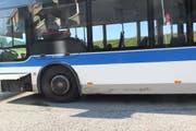 Zum Unfallzeitpunkt befanden sich keine Passagiere im Bus. (Bilder: Kapo SG)