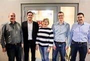 Der aktuelle Bettwieser Gemeinderat: Gemeindepräsident Patrick Marcolin, Marc Steiner, Margrith Jucker-Brunschwiler, Andreas Bosshart und Michael Ruckstuhl. (Bilder: PD)
