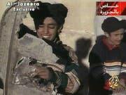 Aufnahme von Hamza bin Laden aus dem Jahr 2001. Heute ist er 30 Jahre alt. (Bild: KEYSTONE/AP Al Jazeera)