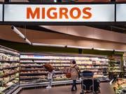 Der Detailhandel hat 2018 zugelegt: eine Migros-Filiale bei Zürich. (Bild: KEYSTONE/MELANIE DUCHENE)