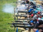 Die Schützen wehren sich gegen die Verschärfung des Waffenrechts. Sie haben erfolgreich das Referendum gegen die Vorlage ergriffen. Auch die Steuervorlage kommt an die Urne. (Bild: KEYSTONE/ALEXANDRA WEY)