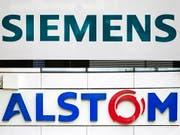 EU-Wettbewerbshüter untersagen offiziell Siemens-Alstom-Fusion. (Bild: KEYSTONE/EPA/ETIENNE LAURENT)