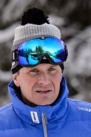 Urs Lehmann, Präsident Swiss Ski. (Bild: Jean-Christophe Bott/Keystone, Wengen, 15. Januar 2016.)