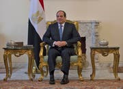 Ägyptens Präsident Abdel Fattah al-Sisi. Bild: Andrew Caballero-Reynolds/AP (Kairo, 10. Januar 2019)