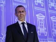 Aleksander Ceferin bleibt UEFA-Präsident (Bild: KEYSTONE/EPA ANSA/FABIO FRUSTACI)