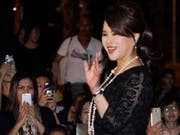 Die Schwester des thailändischen Königs, Prinzessin Ubolratana, kandidiert für das Amt der Premierministerin. (Bild: KEYSTONE/AP)