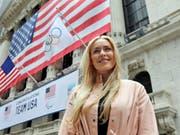 Lindsey Vonn im März 2018 in New York (Bild: KEYSTONE/AP/RICHARD DREW)