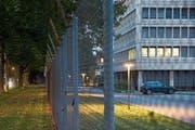 In diesem Gebäude in der Stadt Bern befindet sich der Nachrichtendienst des Bundes. (Bild: Peter Klaunzer/Keystone (Bern, 2. Oktober 2014))