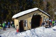 Am Mittwoch herrschte viel Betrieb am Degersheimer Skilift 2: «Wenn sie um die Hütte anstehen, ist es ein guter Tag», sagt Franz Brülisauer.