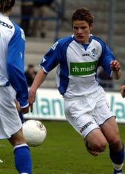 Schwegler 2005 beim FC Luzern. (Bild: Keystone)