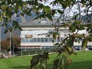 Das Hauptgebäude des Elektrizitätswerks Obwalden in Kerns. (Bild: PD)