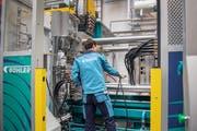 Die Ostschweizer Industrie zeigt sich widerstandsfähig (Bild: Urs Bucher (Uzwil, 7. Februar 2019))