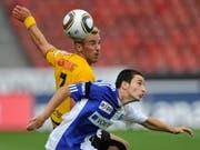 Endogan Adili gegen die Young Boys 2010. (Bild: Keystone)