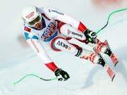 Carlo Janka ist einer der fünf Schweizer in der WM-Abfahrt (Bild: KEYSTONE/AP/GABRIELE FACCIOTTI)