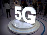 Die 5G-Mobilfunkfrequenzen in der Schweiz sind vergeben. (Bild: KEYSTONE/AP/MARK SCHIEFELBEIN)