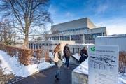 Studierende an der Universität St.Gallen. (Bild: Urs Bucher)