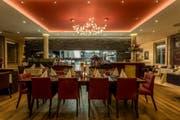 Das neue italienische Restaurant «il tiglio» im Besitz der Raiffeisenbank am Bichelsee.