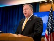 US-Aussenminister will laut Regierungsangaben die Verbündeten in Zentraleuropa dazu ermutigen, ihren Widerstand gegen Russland und China zu verstärken. (Bild: KEYSTONE/AP/ANDREW HARNIK)