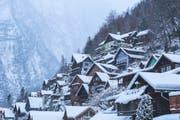 Blick auf das bekannte Dorf Hallstatt im österreichischen Salzkammergut. (Bild: Lingxiao Xie/Getty)