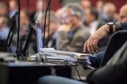 Geht es nach der SP und den Grünen, sollen künftig alle 120 Plätze im Luzerner Kantonsratssaal besetzt sein - notfalls mittels Stellvertretungen. (Bild: Nadia Schärli, Luzern, 28. Januar 2019)
