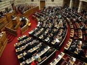 Das Parlament in Athen hat das Nato-Beitrittsprotokoll des künftigen Nordmazedonien ratifiziert. (Bild: KEYSTONE/EPA ANA-MPA/ORESTIS PANAGIOTOU)