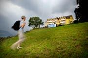 Wegen Umbauarbeiten ist das Hotel Himmelrich in Kriens geschlossen. (Bild: Pius Umrein, 12. Juli 2010))