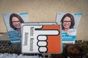 FDP-Kandidatin Susanne Vincenz-Stauffacher will ihr Wahlkampfbudget nicht offenlegen, «weil keine Zahl der Realität gerecht wird». (Bild: Benjamin Manser)