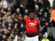 Paul Pogba führt Manchester United zu einem weiteren Vollerfolg (Bild: KEYSTONE/AP/MATT DUNHAM)
