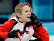 Silvana Tirinzoni wird sich den Titelgewinn wohl hart erarbeiten müssen (Bild: KEYSTONE/AP/NATACHA PISARENKO)
