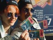 Ende April ist Schluss mit dem Jugend-Nacht-Abo Gleis 7. «Seven25» heisst ab 1. Mai das neue Nacht-GA für junge Leute zwischen 16 und 25 Jahren. (Bild: KEYSTONE/ALESSANDRO DELLA VALLE)