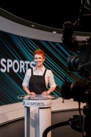 My Sports mit Aushängeschild Steffi Buchli erhält mit Sunrise einen neuen Besitzer. Bild: Christian Merz/KEY