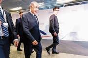 Netanjahu bei einer Konferenz in Warschau über Frieden und Sicherheit im Mittleren Osten. (Bild: Dominika Zarzycka/NurPhoto, 14. Februar 2019)